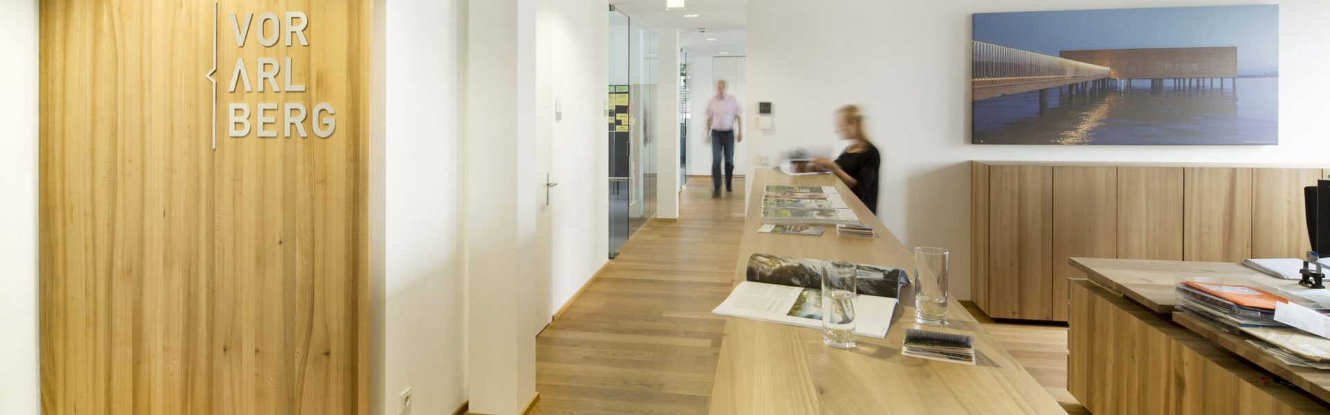 Büro der Vorarlberg Tourismus GmbH, Dornbirn © Petra Rainer Vorarlberg Tourismus GmbH