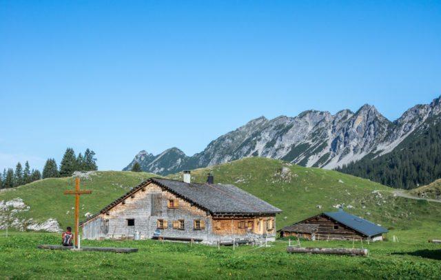 Alpe Laguz, Großes Walsertal © Helmut Düringer / Vorarlberg Tourismus