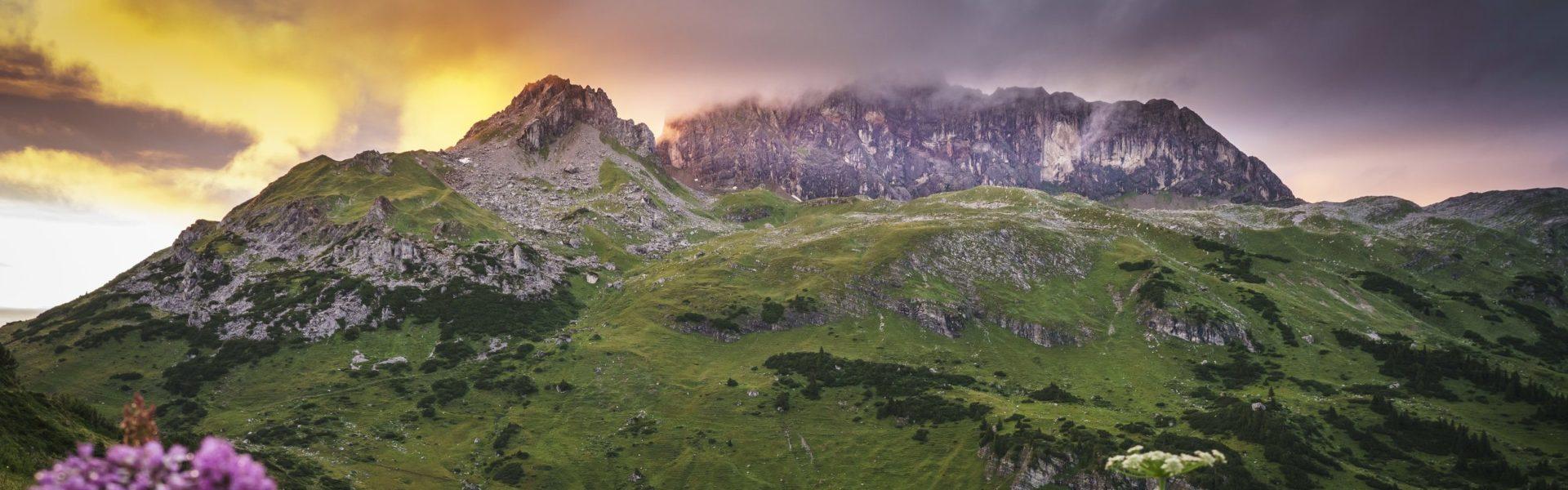 Formarinsee und Rote Wand © Dietmar Denger / Vorarlberg Tourismus