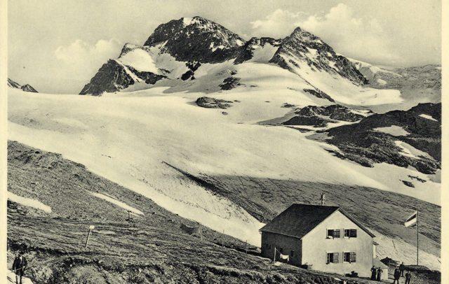 Wiesbadener Hütte vor dem 1. Weltkrieg, (c) Sektion Wien des DÖAV