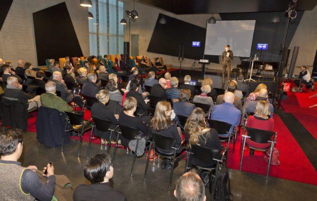 Plattform Kultur und Tourismus, 4.12.2017 KUB Kunsthaus Bregenz, Pecha-Kucha Nachmittag (c) Dietmar Mathis / Vorarlberg Tourismus GmbH
