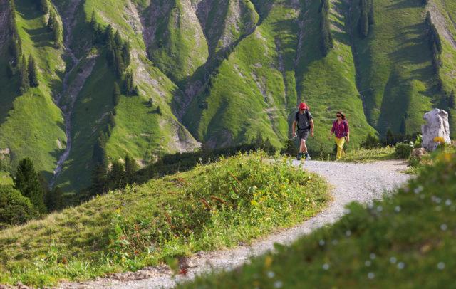 Min Weag - Vorarlberg Rundwanderweg © Peter Mathis / Vorarlberg Tourismus