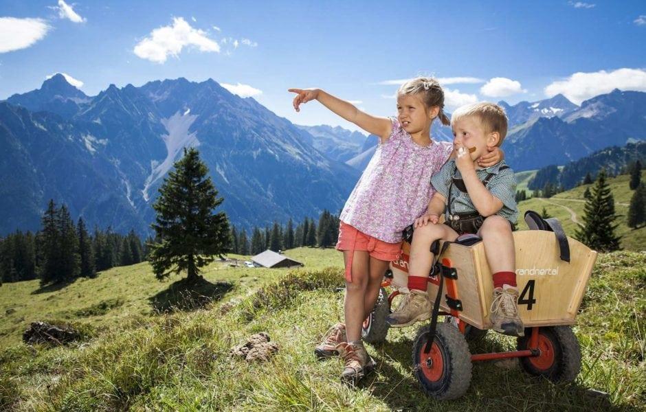 Markenleitprodukt Natursprüngeweg Brandnertal (c) Alpenregion Bludenz Tourismus GmbH