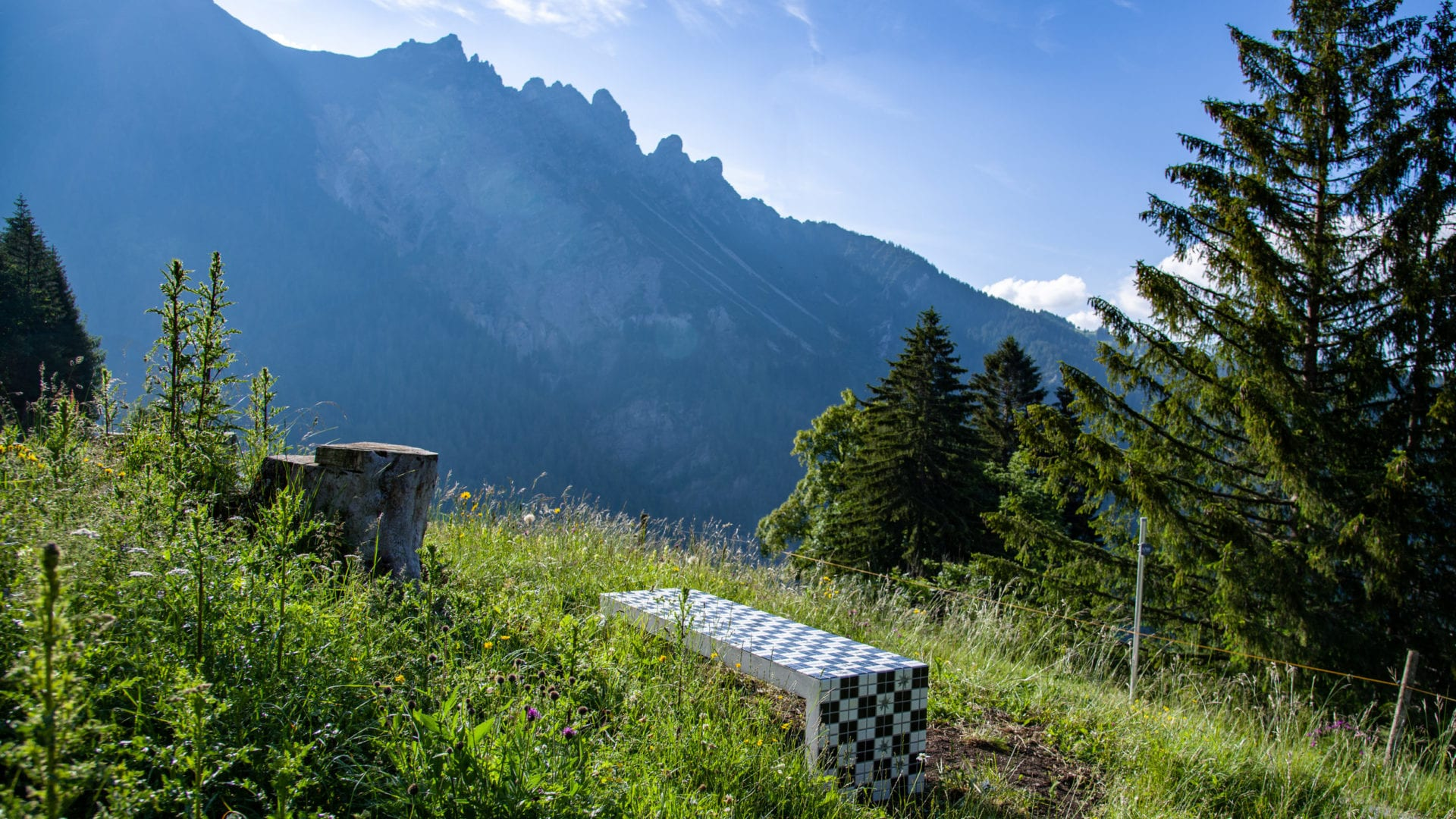 Alpine Art Muttersberg, Blickbank - Monika Grabuschnigg, (c) Oliver Lerch
