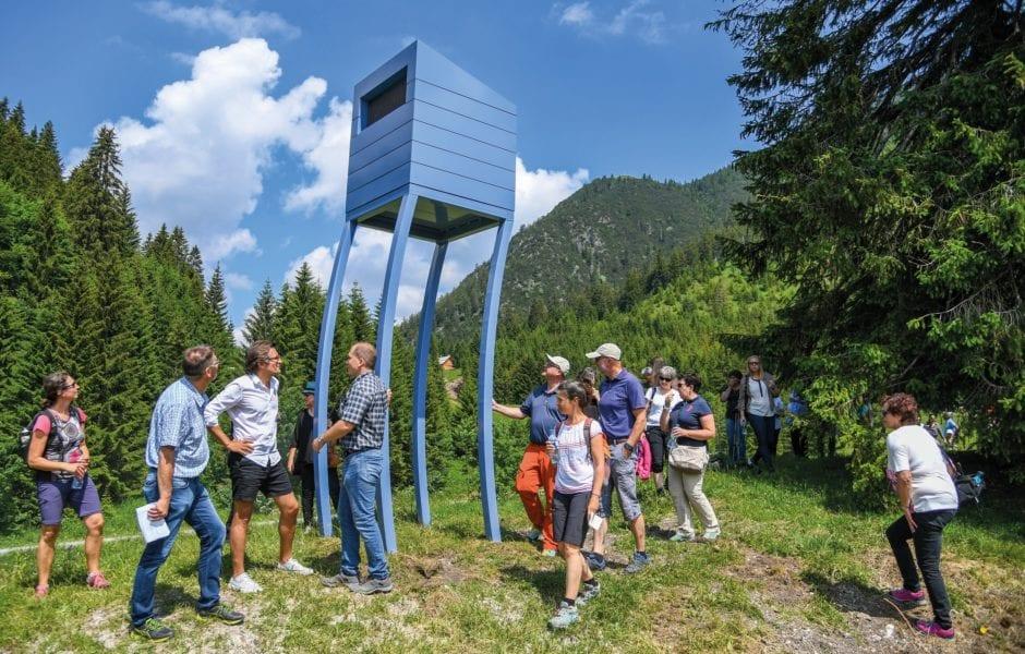 Alpine Art Muttersberg, Feiger Hochstand - Marbod Fritsch, (c) Oliver Lerch