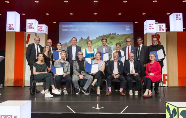 Die Tourismus-Innovationspreisträger 2018