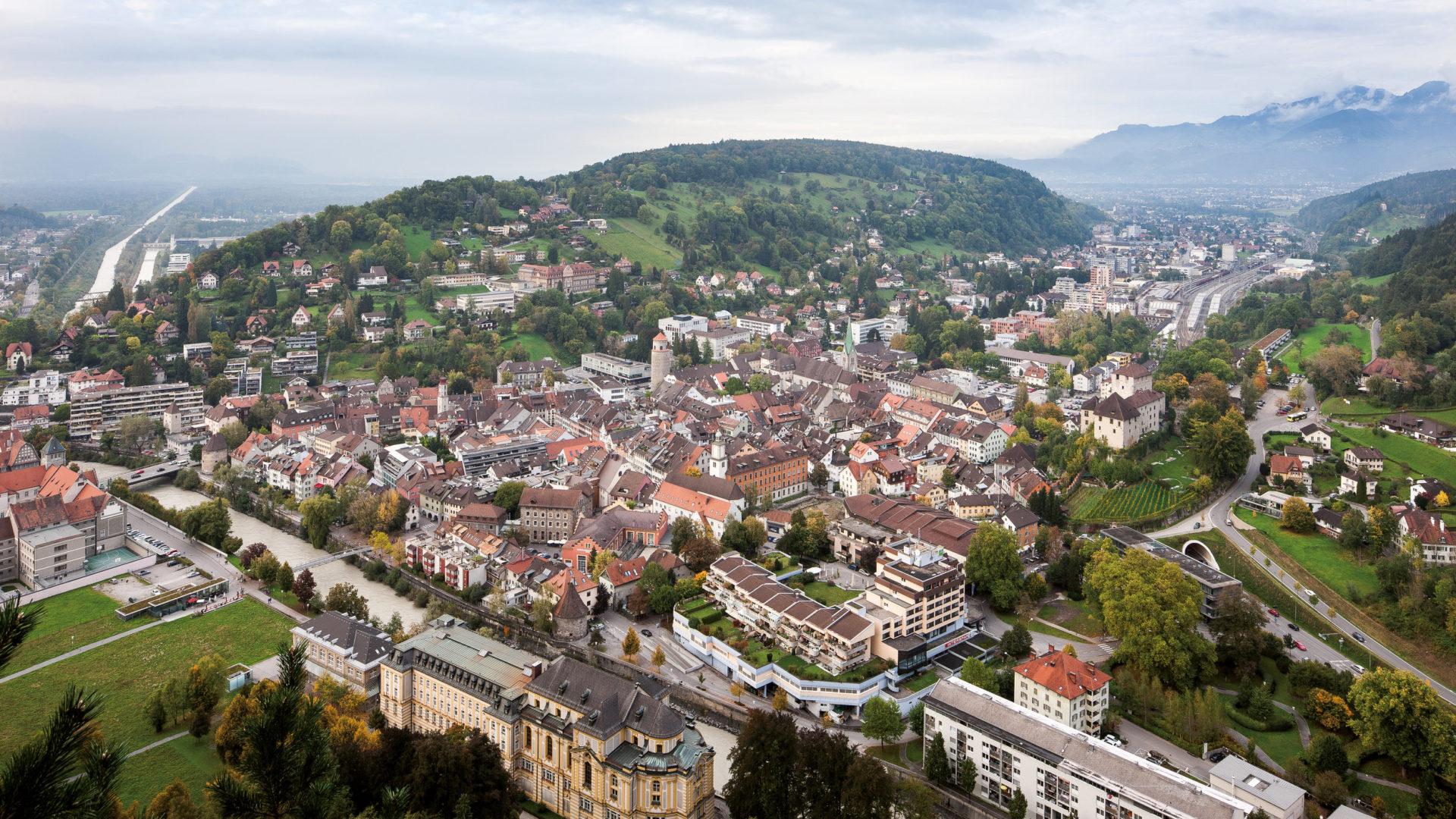Feldkirch Stadtzentrum © Dietmar Walser / Vorarlberg Tourismus