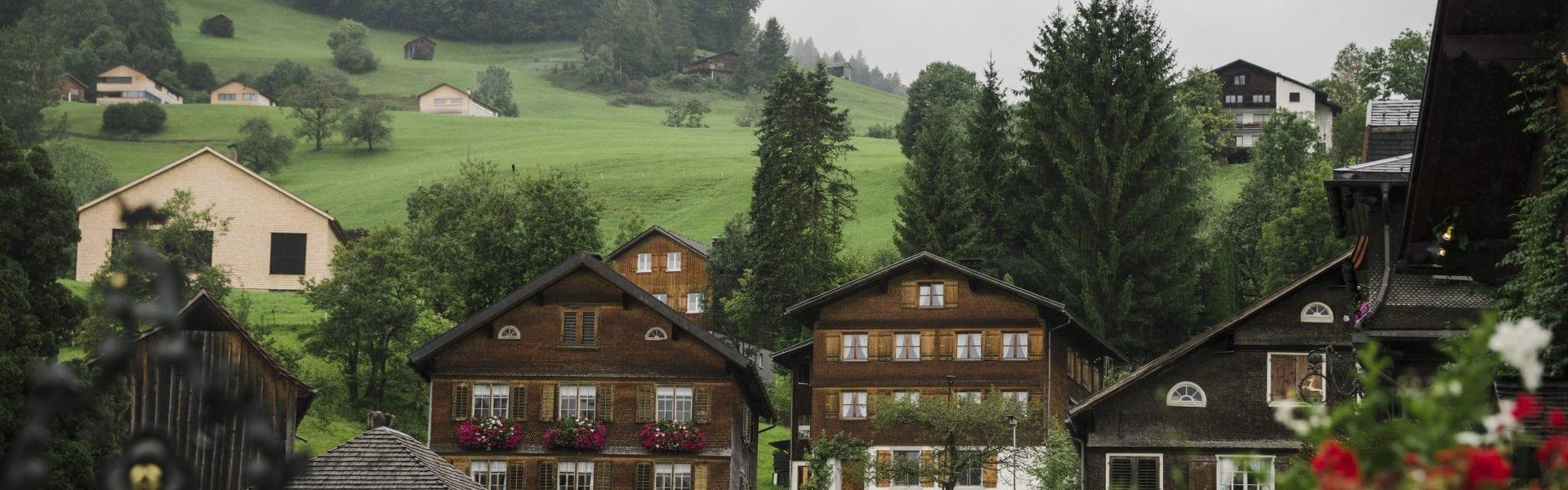 Häuser in Schwarzenberg, (c) Jana Sabo, friendship.is